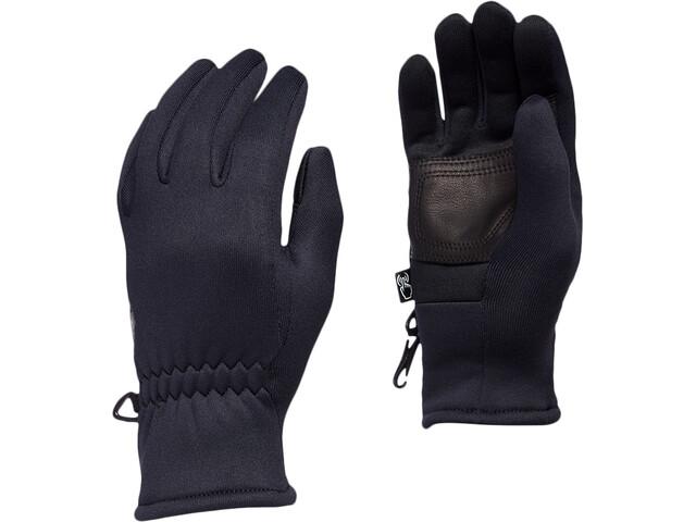 Black Diamond Heavyweight Screentap Gloves Kids, negro